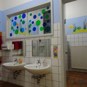 Waschraum Obergeschoss
